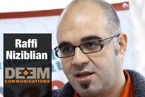 Interview with Raffi Niziblian, Deem Communications, Yerevan